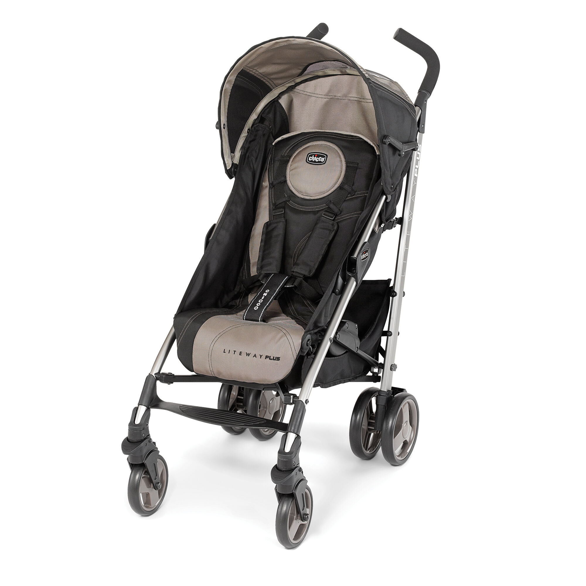Chicco Liteway Plus 2 In 1 Stroller Champagne