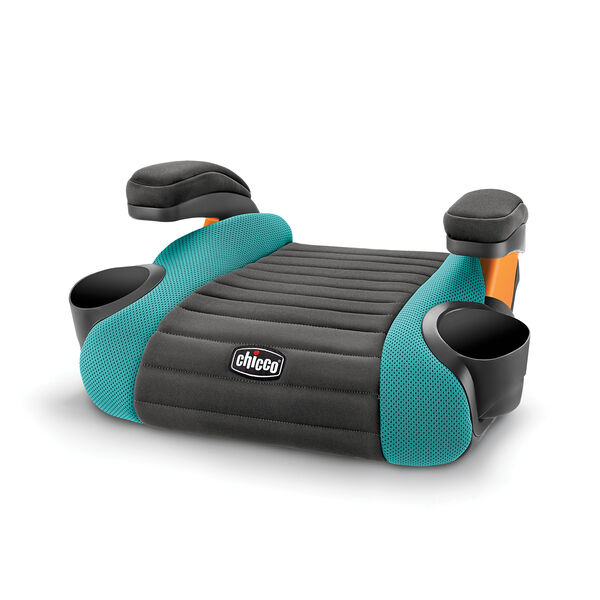 GoFit Backless Booster Car Seat - Raindrop in Raindrop