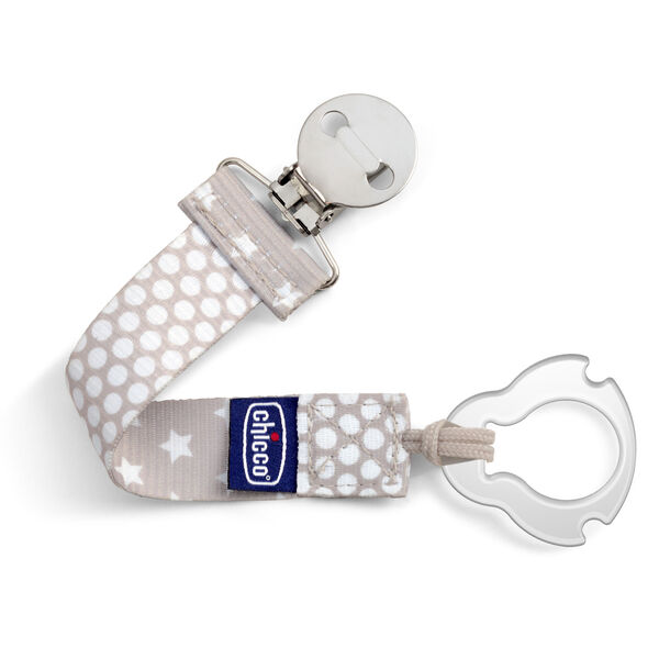 Universal Two-in-One Fashion Pacifier Clip in