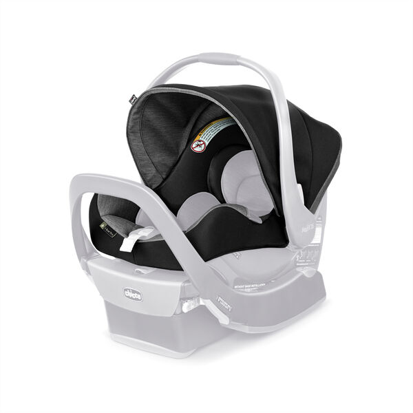 KeyFit 35 ClearTex Infant Car Seat Cover, Canopy & Shoulder Pads - Shadow in Shadow