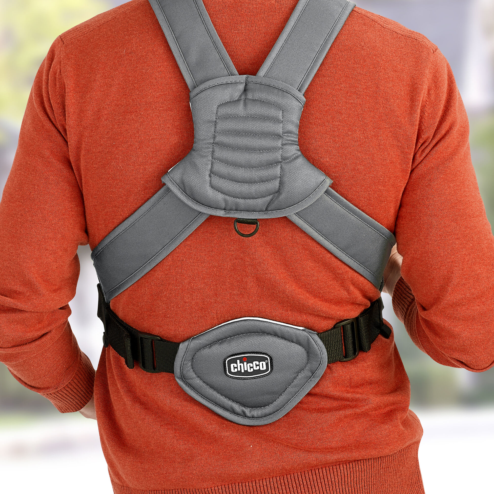 Padded Straps With Lumbar Support Provide A Comfortable Fit For Mom Or Dad