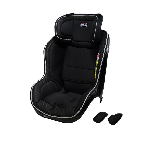 Chicco NextFit iX seat cover and shoulder pads in Crux fashion