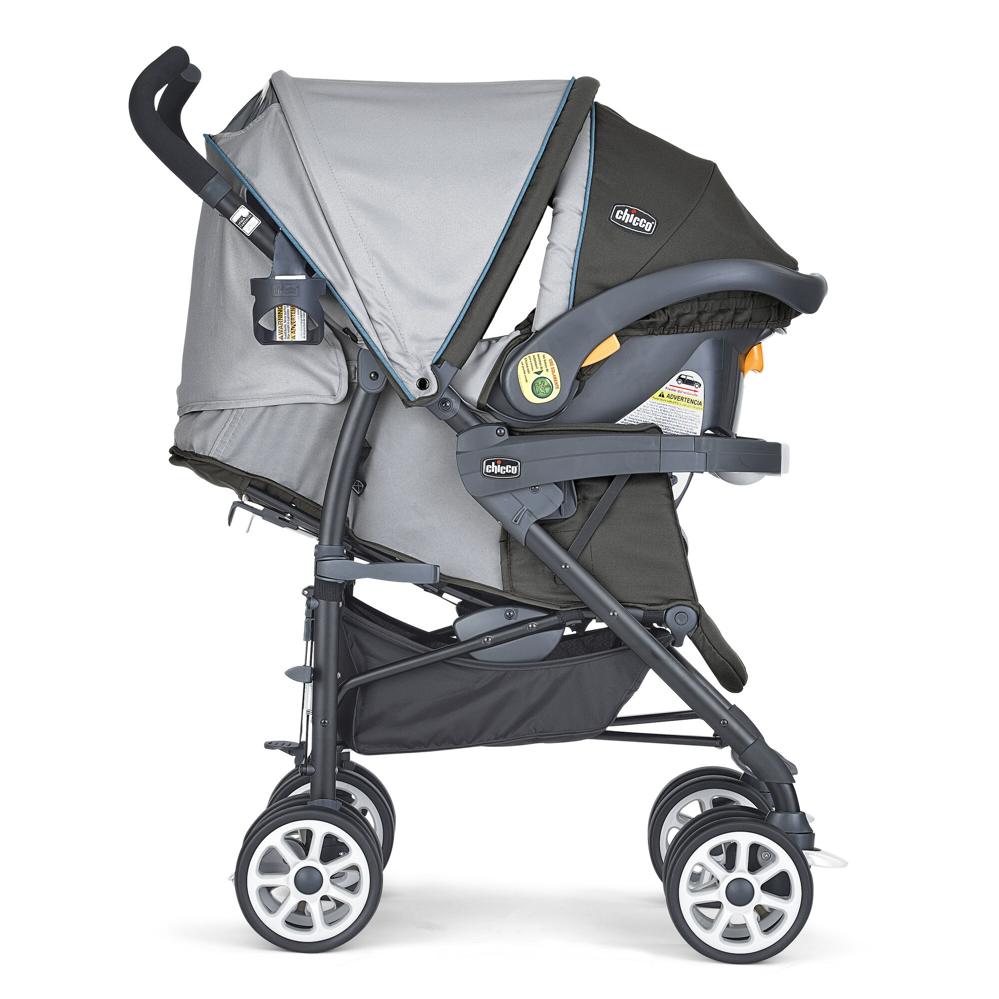 8151f680e ... Chicco Neuvo Stroller and KeyFit 30 Infant Car Seat come together to  form the Chicco Nuevo ...