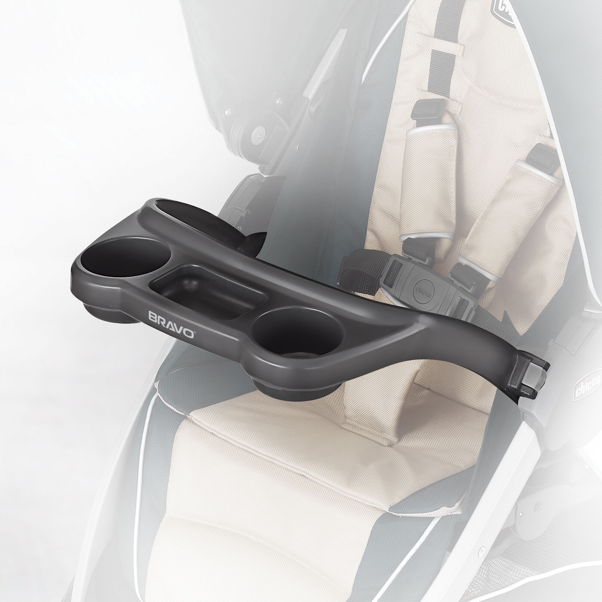 Bravo Stroller Tray & Infant Car Seat Adapter | Chicco