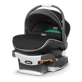 Chicco KeyFit 30 Zip Air infant car seat in the Surf fashion