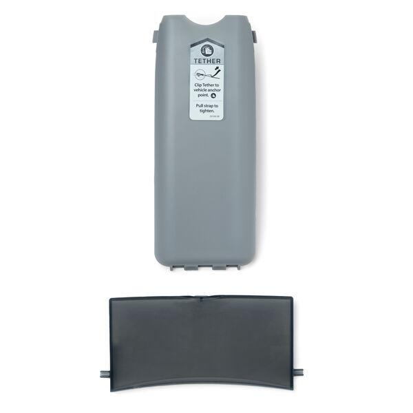 NextFit Convertible Car Seat Tether & Manual Storage Doors in