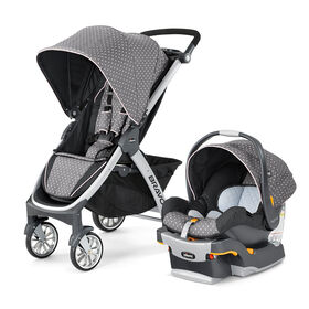 Bravo Trio Travel System in Lilla