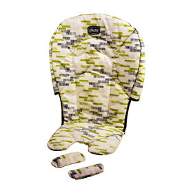 Stack Highchair Seat Cover & Shoulder Pads in Kiwi