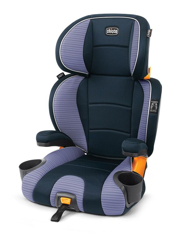 KidFit 2-in-1 Belt Positioning Booster Car Seat - Celeste in Celeste
