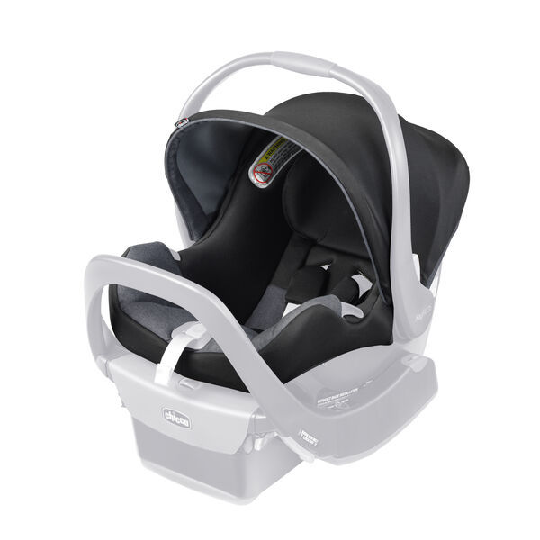 KeyFit 35 Infant Car Seat Cover, Canopy & Shoulder Pads - Onyx in Onyx
