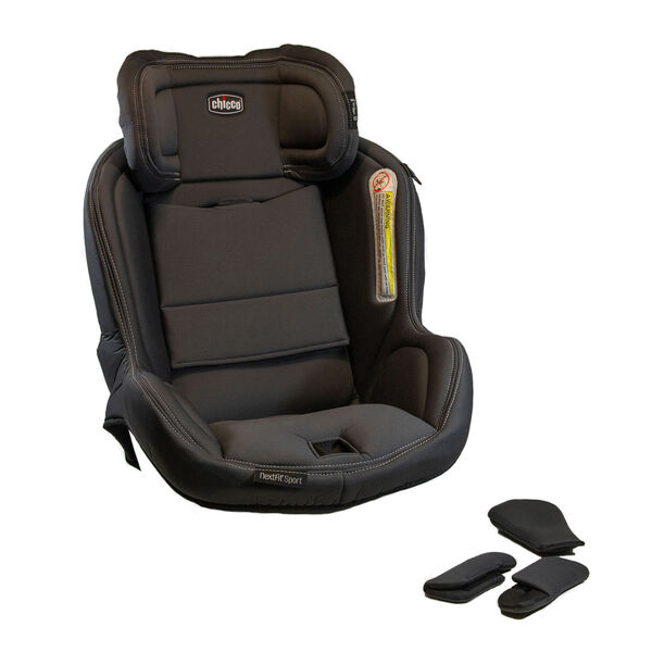 NextFit Sport - Seat Cover, Headrest and Shoulder Pads - Graphite in