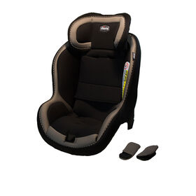 Chicco NextFit iX seat cover and shoulder pads in Sandalwood fashion