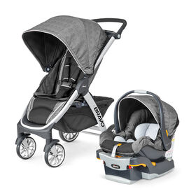 Bravo Trio Travel System in Avena