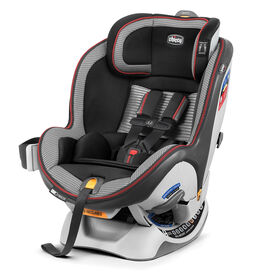 NextFit Zip Air Convertible Car Seat - 2018 in Rosso
