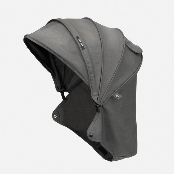 Piccolo Stroller Canopy - Carbon in