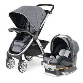 Bravo Trio Travel System in Indigo
