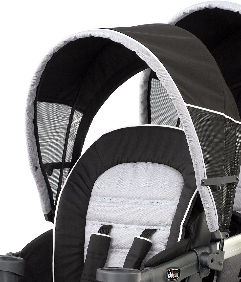 Replacement front canopy for Chicco Cortina Together Double Stroller - Romantic - Cortina Together Front Canopy  sc 1 st  Chicco & TOGETHER FRONT CANOPY ROMANTIC - Chicco