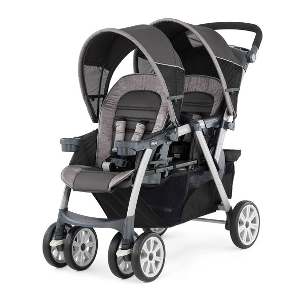 Cortina Together Double Stroller - Meridian in Meridian