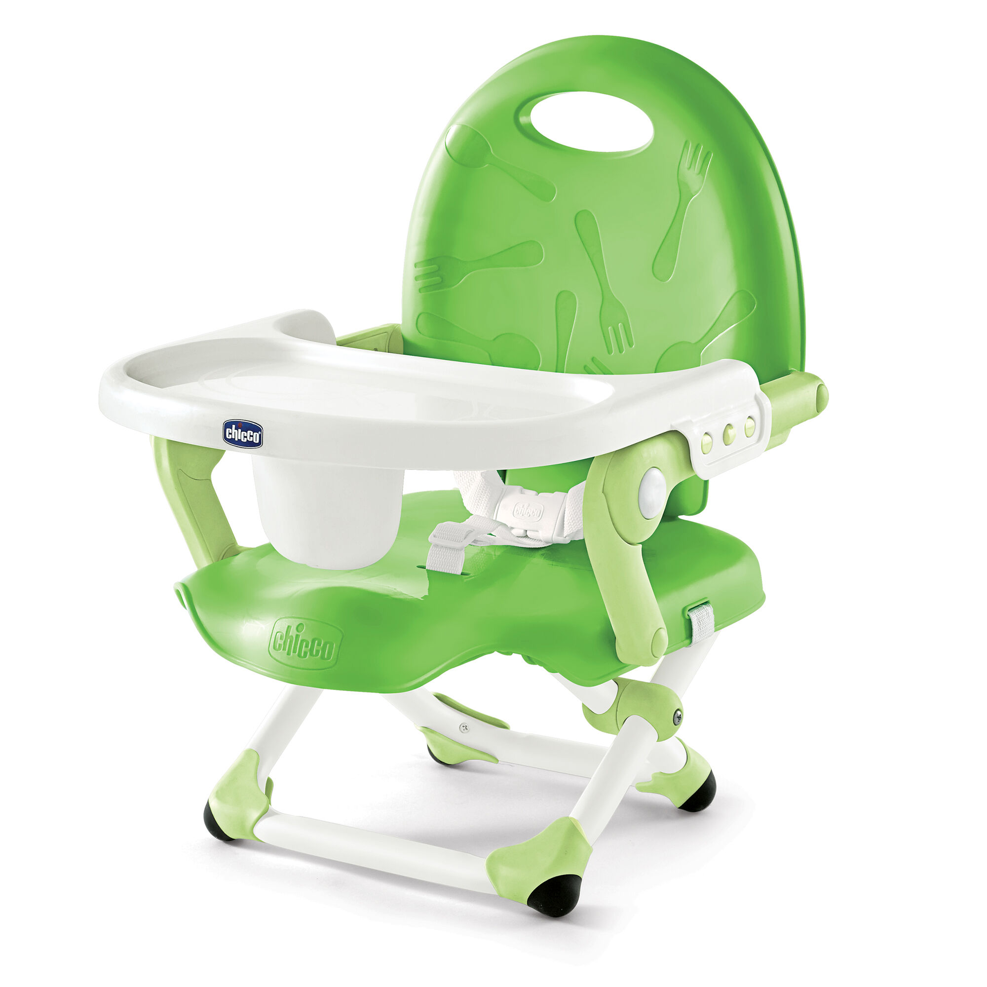 chicco pocket snack booster seat green