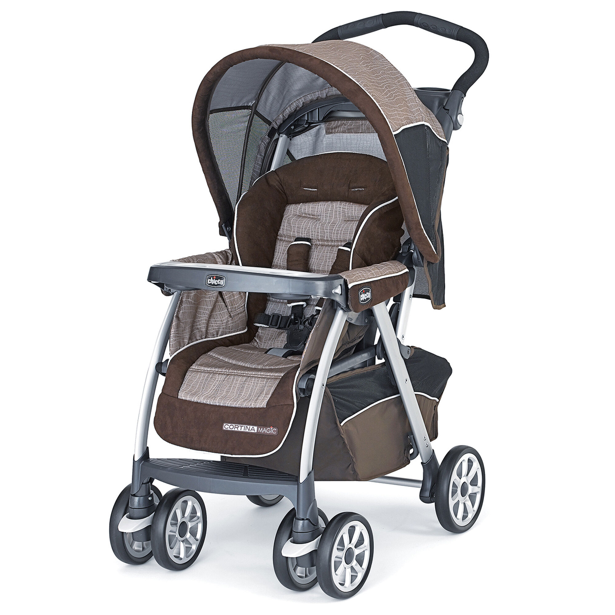 Ultra-lightweight, Full Featured The Graco LiteRider LX Travel System features an ultra-lightweight, fully featured stroller and the Graco SnugRide 30 Click Connect Infant Car Seat.