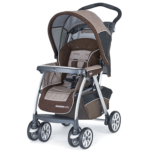 Chicco Cortina Magic Stroller - Rattania, Chicco Cortina Travel System - Rattania