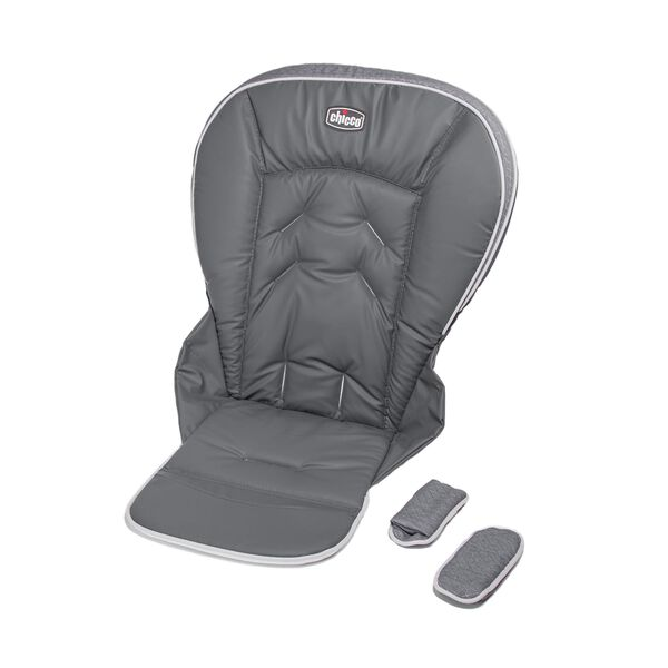 Replacement seat cushion, seat cover, and shoulder pads for Chicco Polly 2013 Highchair