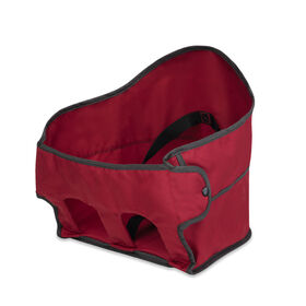Caddy Portable Hook-On Chair Seat Cover & Harness - Red in