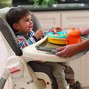 The removable tray insert for the Chicco Polly SE Highchair is dishwasher-safe for easy cleanup