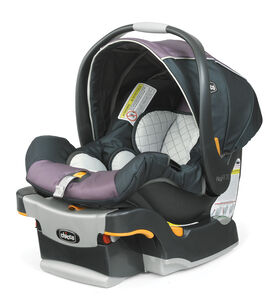 Chicco KeyFit 30 Infant Car Seat and car seat base in light purple pastel violet Lyra fashion