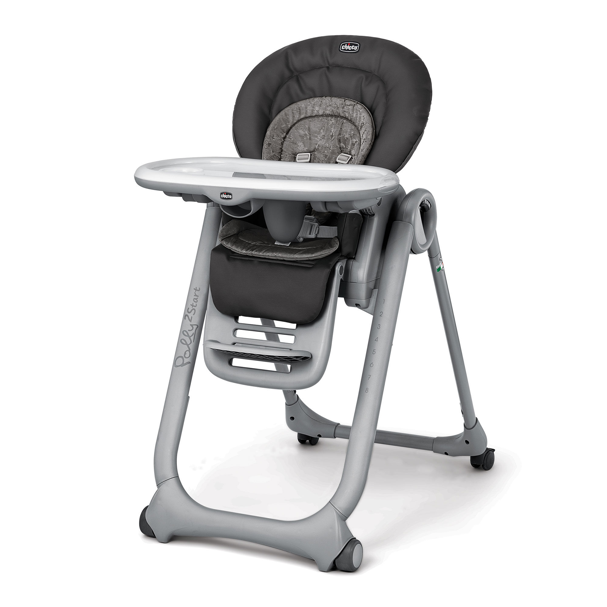 Graphite Chicco Polly2Start Highchair