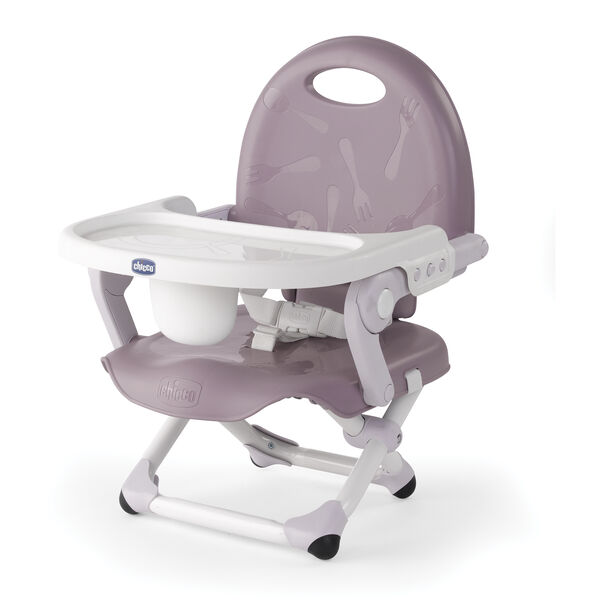 Chicco Pocket Snack Booster Seat in Lavender color