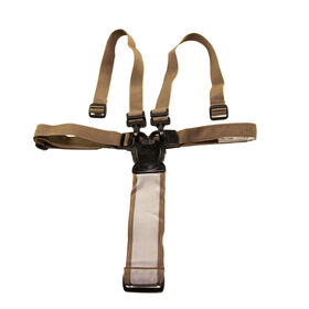 Replacement 5-point safety harness for Chicco Polly Highchair - Brown
