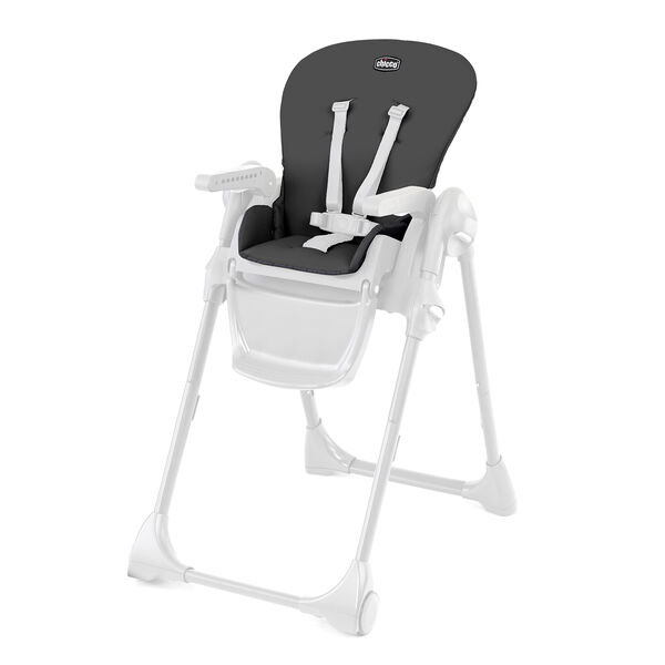 Polly Highchair Seat Cover - Black in Black