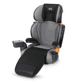 Chicco KidFit Zip Air Booster Car Seat in Quantum fashion