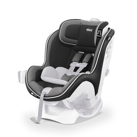 NextFit Zip Convertible Car Seat Cover, Head Rest and Pads - Carbon in