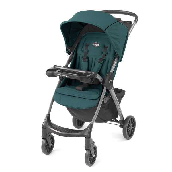 Chicco Mini Bravo Plus Stroller - Eucalyptus Fashion