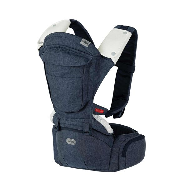 Chicco SideKick Plus 3-in-1 Hip Seat Carrier in Denim