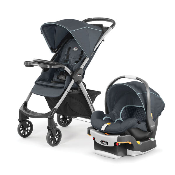 Chicco Mini Bravo Plus Stroller in the Midnight Fashion