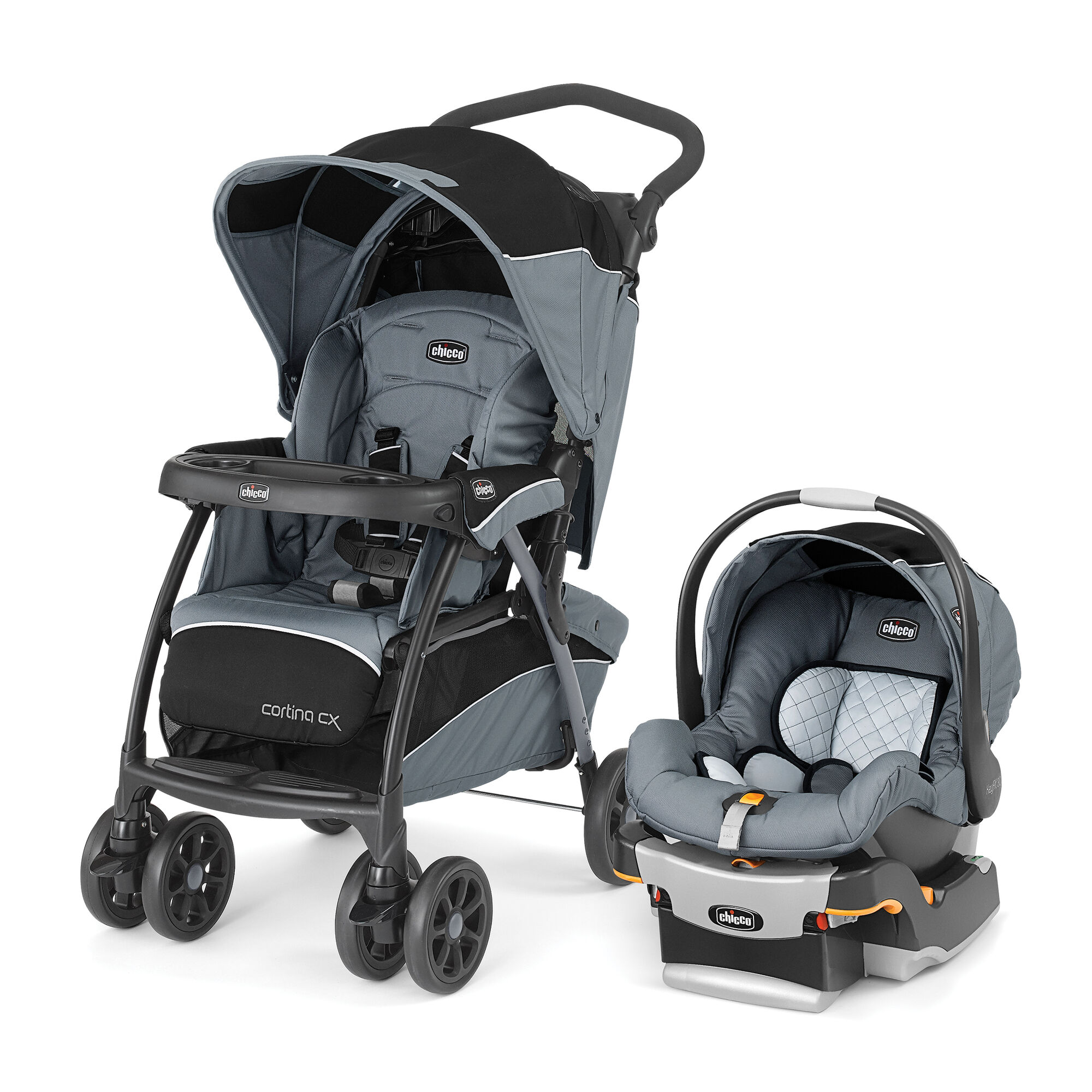 Cortina Cx Travel System Iron Chicco