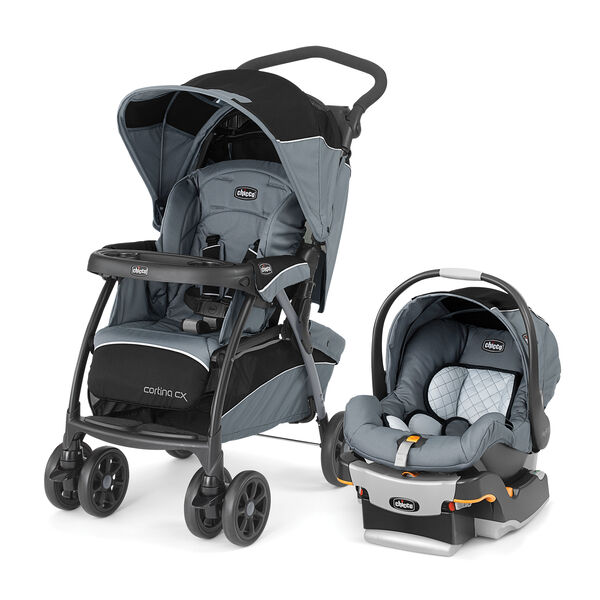 Cortina CX Travel System - Iron in Iron
