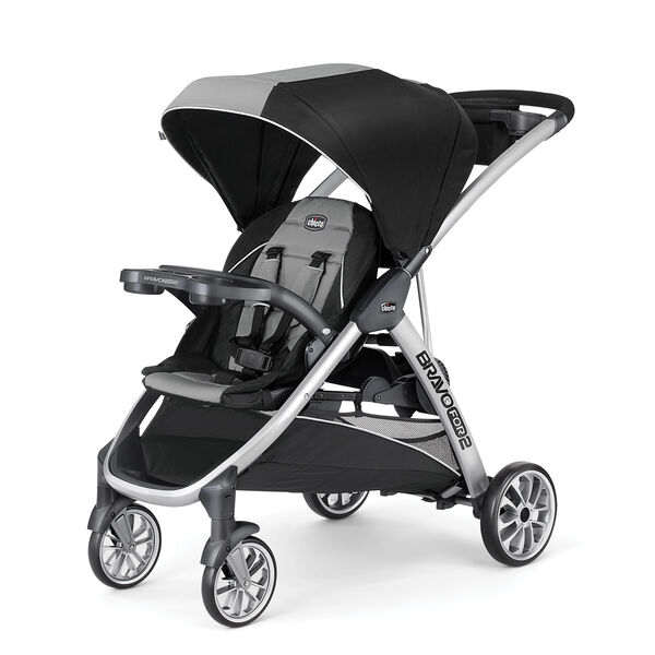 BravoFor2 Standing/Sitting Double Stroller in