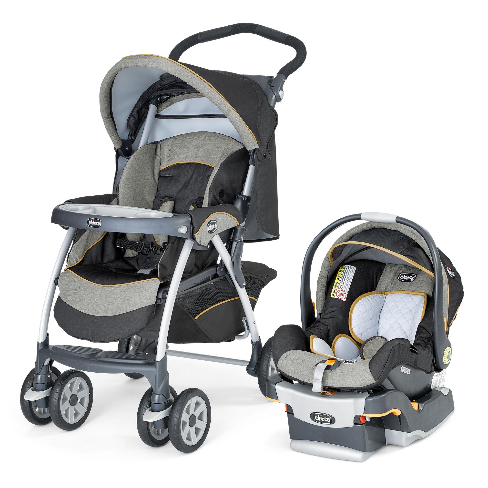 Keyfit 30 Stroller >> Chicco Cortina Keyfit 30 Travel System Sedona
