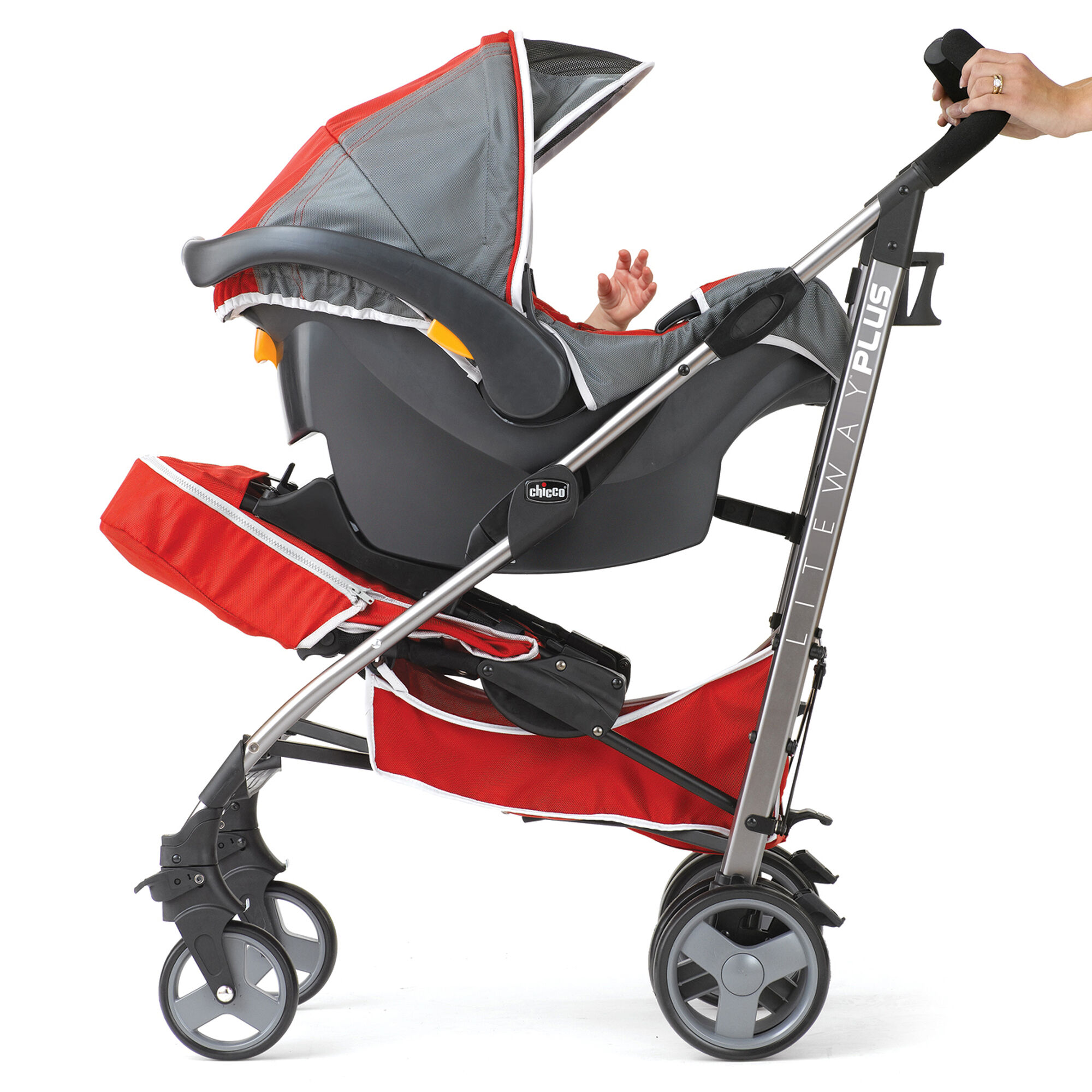 Chicco Liteway Plus 2-in-1 Stroller - Snapdragon