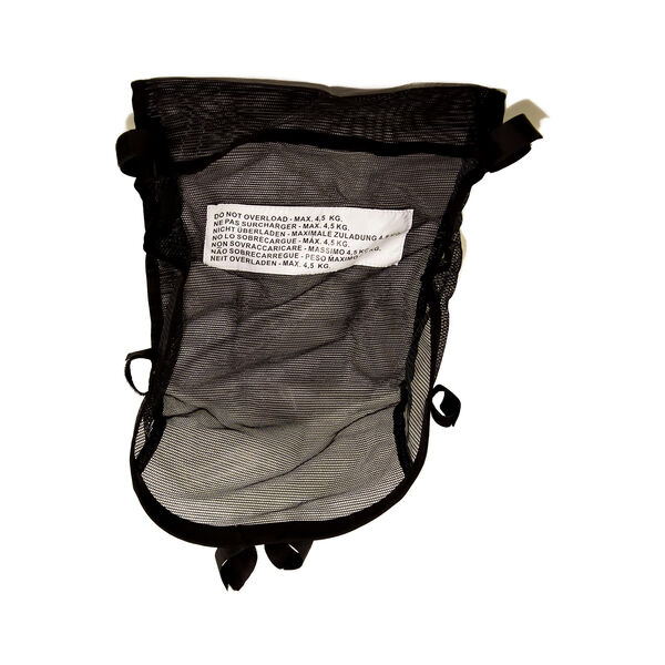 Capri Stroller C6 Basket - Black in