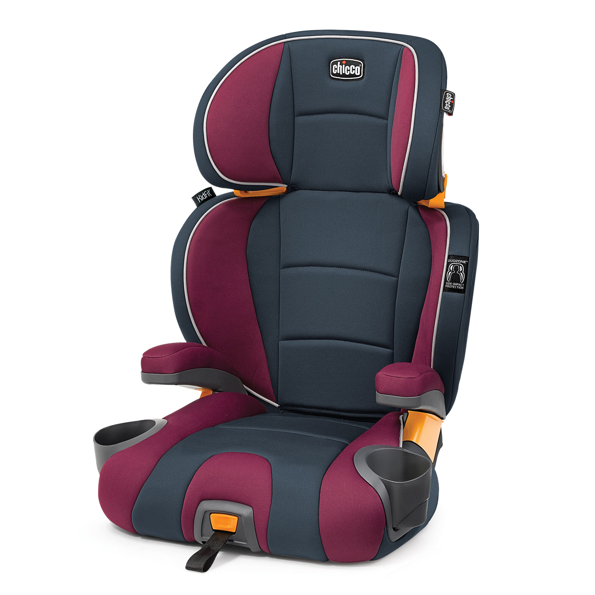 Chicco Kidfit 2 In 1 Belt Positioning Booster Seat Amethyst