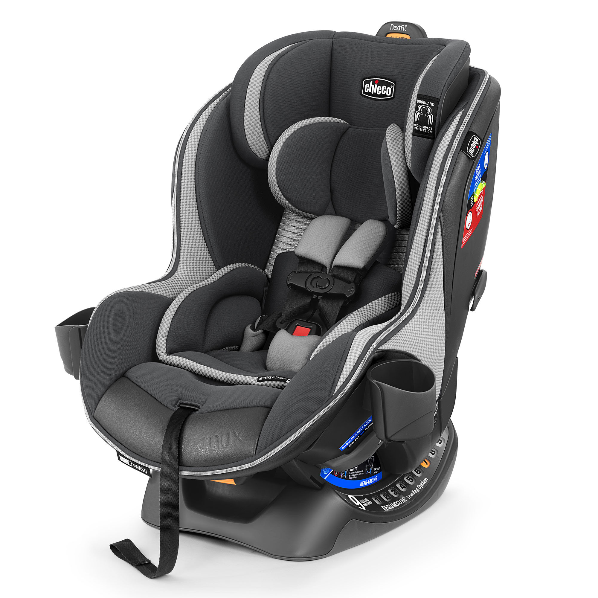 NextFit Zip Max Extended-Use Convertible Car Seat | Chicco