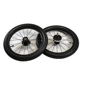 TRE Jogging Stroller - Rear Wheels in