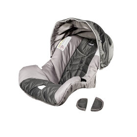 how to put chicco nextfit car seat cover back on