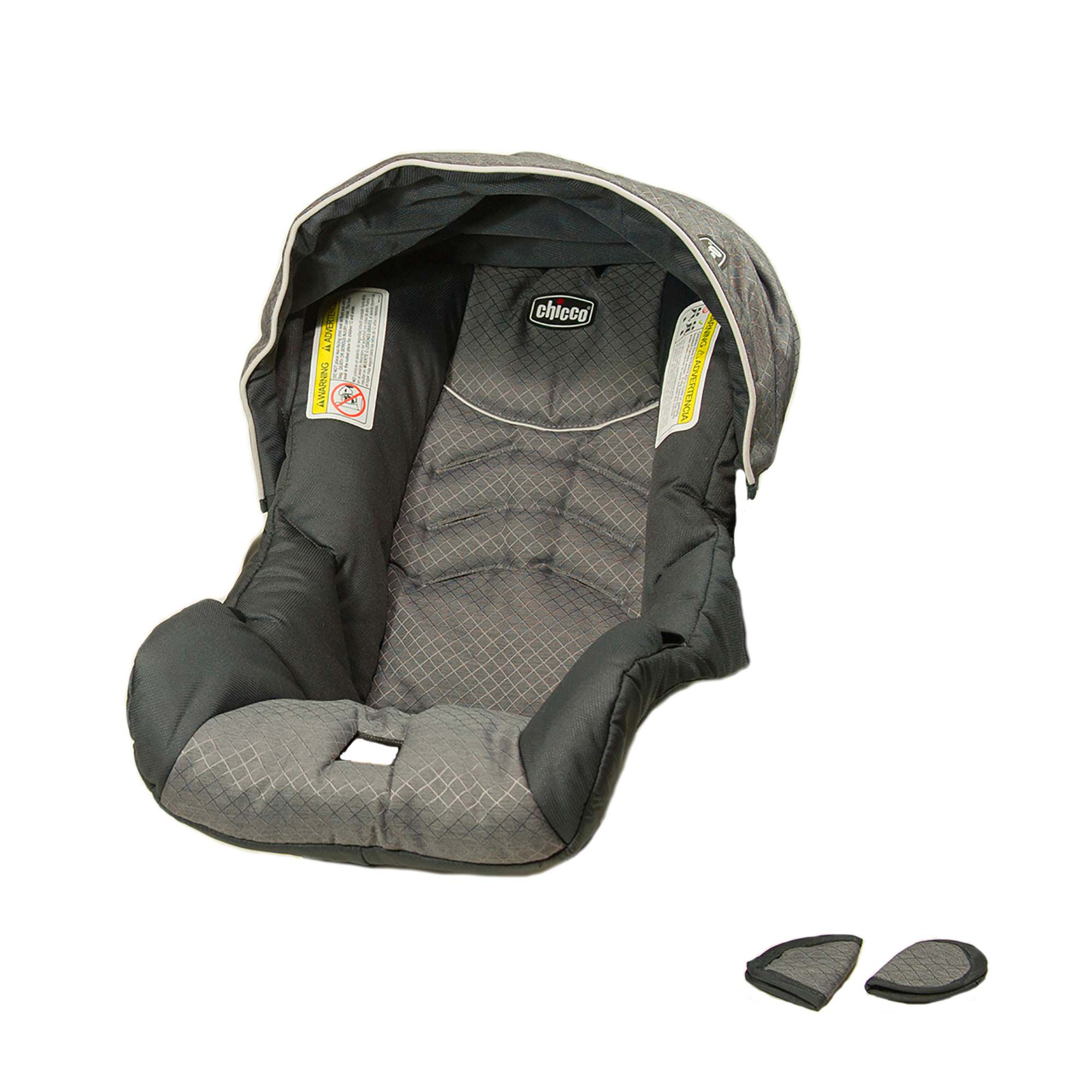 Replacement Chicco KeyFit Car Seat Cover Canopy And Shoulder Pads