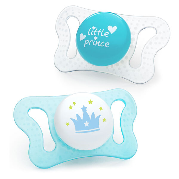 PhysioForma mi-cro Pacifier 0-2M - Blue (2pc) in
